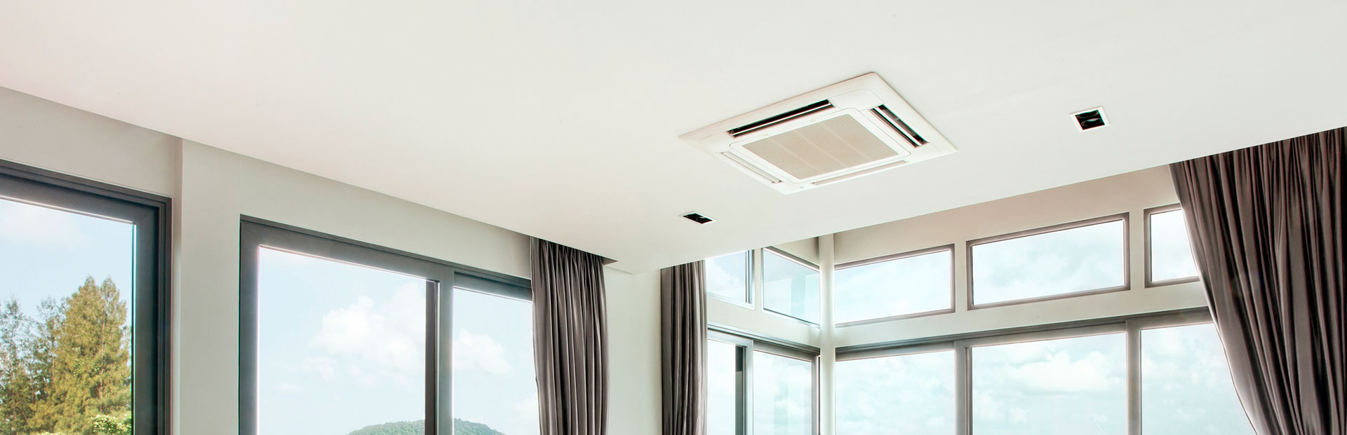 Domestic and industrial air conditioners